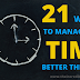 21 Ways To Manage Your Time Better Than Ever (2020) - Time Management