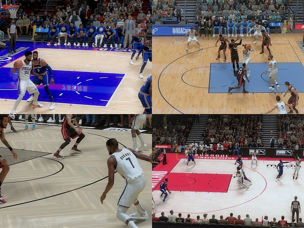 NBA 2K21 UNGAK REAL NA REAL LIGHTING 6 Team Pack (76ers, Clippers, Grizzlies, Hawks, Nets, Trailblazers) PART 2 by Joseph Elopre