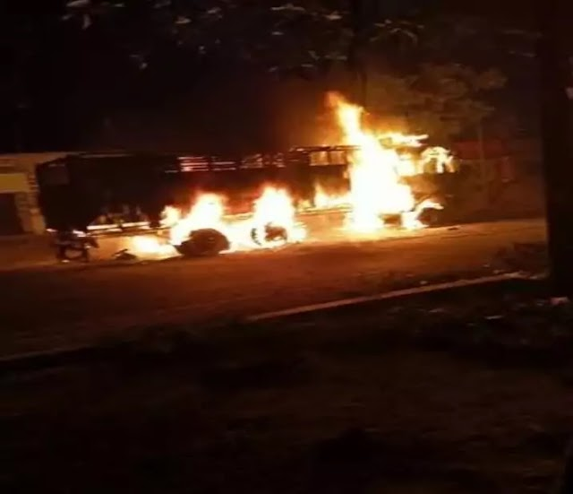 Samastipur News: सरायरंजन व हलाई ओपी क्षेत्र की एनएच-322 पर ट्रक ने सात को कुचला, पिता-पुत्र समेत तीन मरे, आक्रोशित ग्रामीणों ने ट्रक फूंका