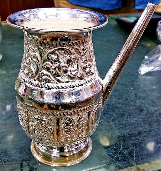 Beautiful Jug Jar Silver Jewelry Design | Fdbnj