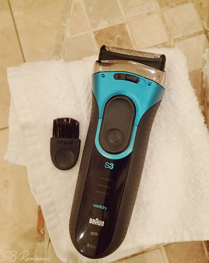 Braun Series 3 3080 Mens Electric Foil Shaver Wet and Dry Review 7