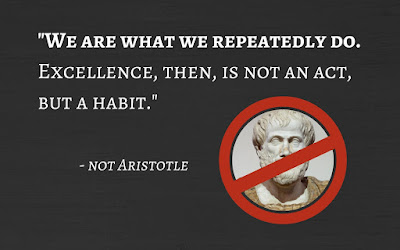 Habit Excellence Quote