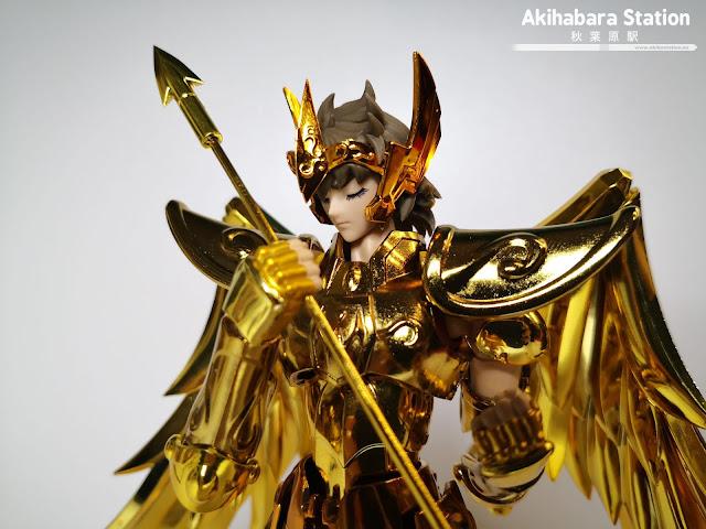 Review del Saint Cloth Myth EX Sagittarius Aiolos ver. Revival de Saint Seiya - Tamashii Nations