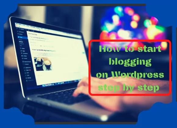 How to start blogging on Wordpress