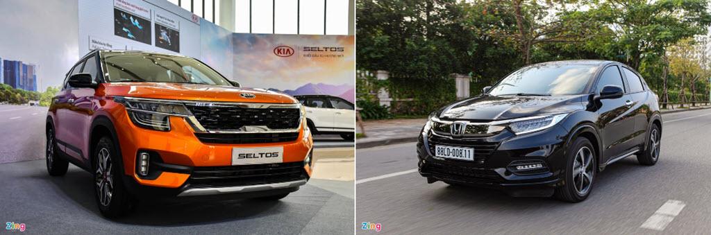 Kia Seltos có vượt trội hơn Honda HR-V trong nhóm SUV hạng B?