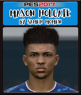 PES 2017 Faces Mason Holgate by Sameh Momen