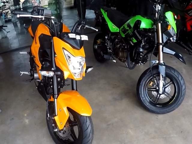 Kawasaki Z 125 dan Kawasaki KSR Pro Indonesia