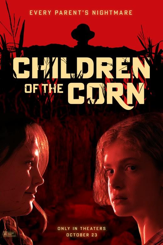 Новый хоррор «Дети кукурузы» по рассказу Стивена Кинга незаметно вышел в кинотеатрах - Постер