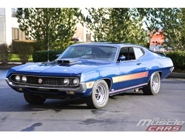 Auction Watch 1970 Ford Torino Gt 429 Super Cobra Jet