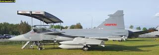 Colombia - Saab 39 Grippen ( caza polivalente ligero, monomotor Suecia  ) - Página 6 07-4