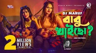 Babu Khaicho Song (বাবু খাইছো) Lyrics - DJ Maruf