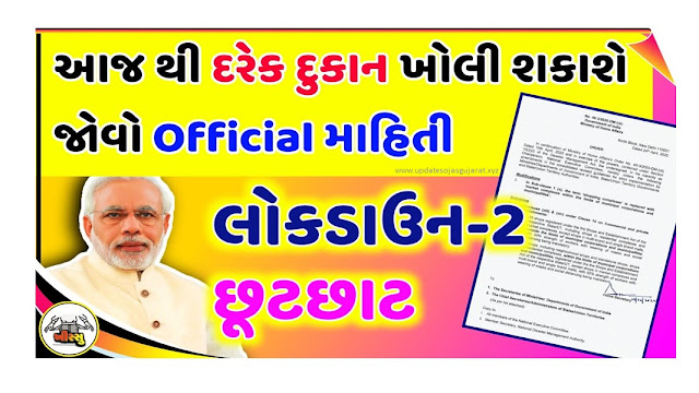 Important news for Gujaratis, the government has given permission to open all these shops from tomorrow