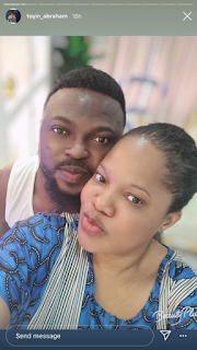Toyin Abraham Shares Loved Up Photos With Her Husband, Kolawole Ajeyemi