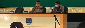 Rapat Pembentukan RT Siaga Covid 19 Tahap III Bersama Ketua RT Pada Kecamatan Tarakan Tengah
