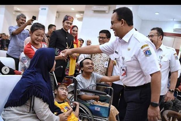Anies Penuhi Janji, Ratusan Penyandang Disabilitas Mendapatkan Lapangan Kerja di Jakarta