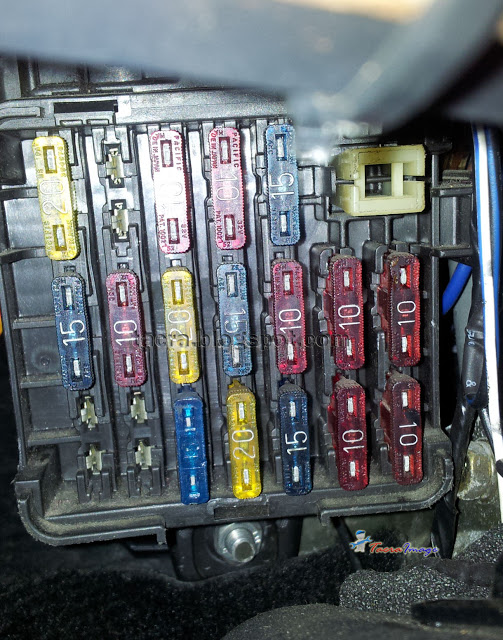 Tacra S Diy Garage 4g9x Fuse Relay