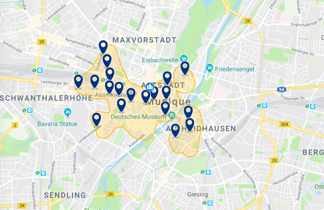 Melhor região para se hospedar em Munique