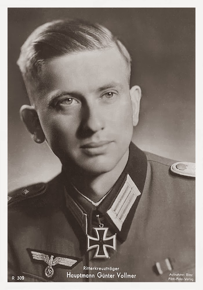 Günter Vollmer Ritterkreuzträger Knight Cross Holder Postcard