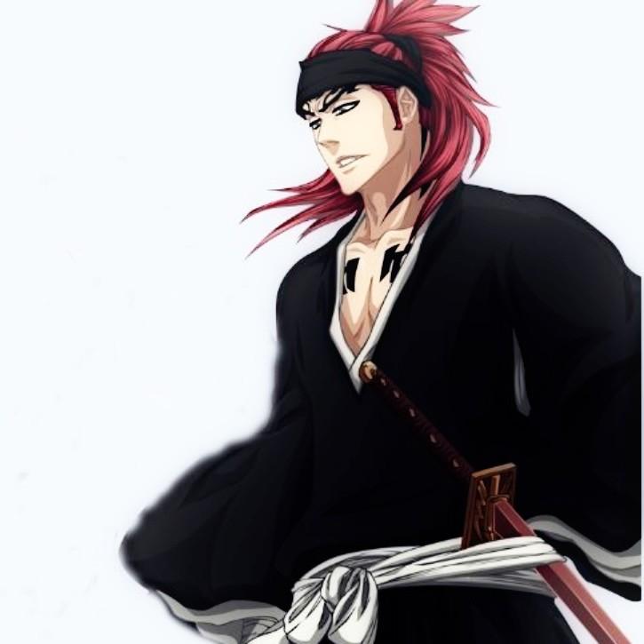 Abarai Renji (Bleach) anime character image.
