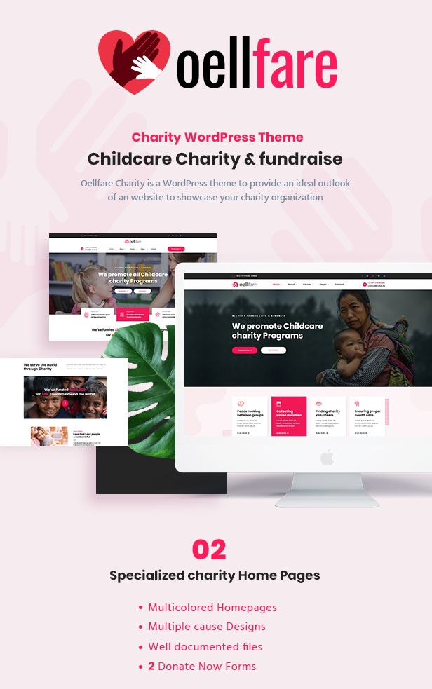 Best Charity WordPress Template