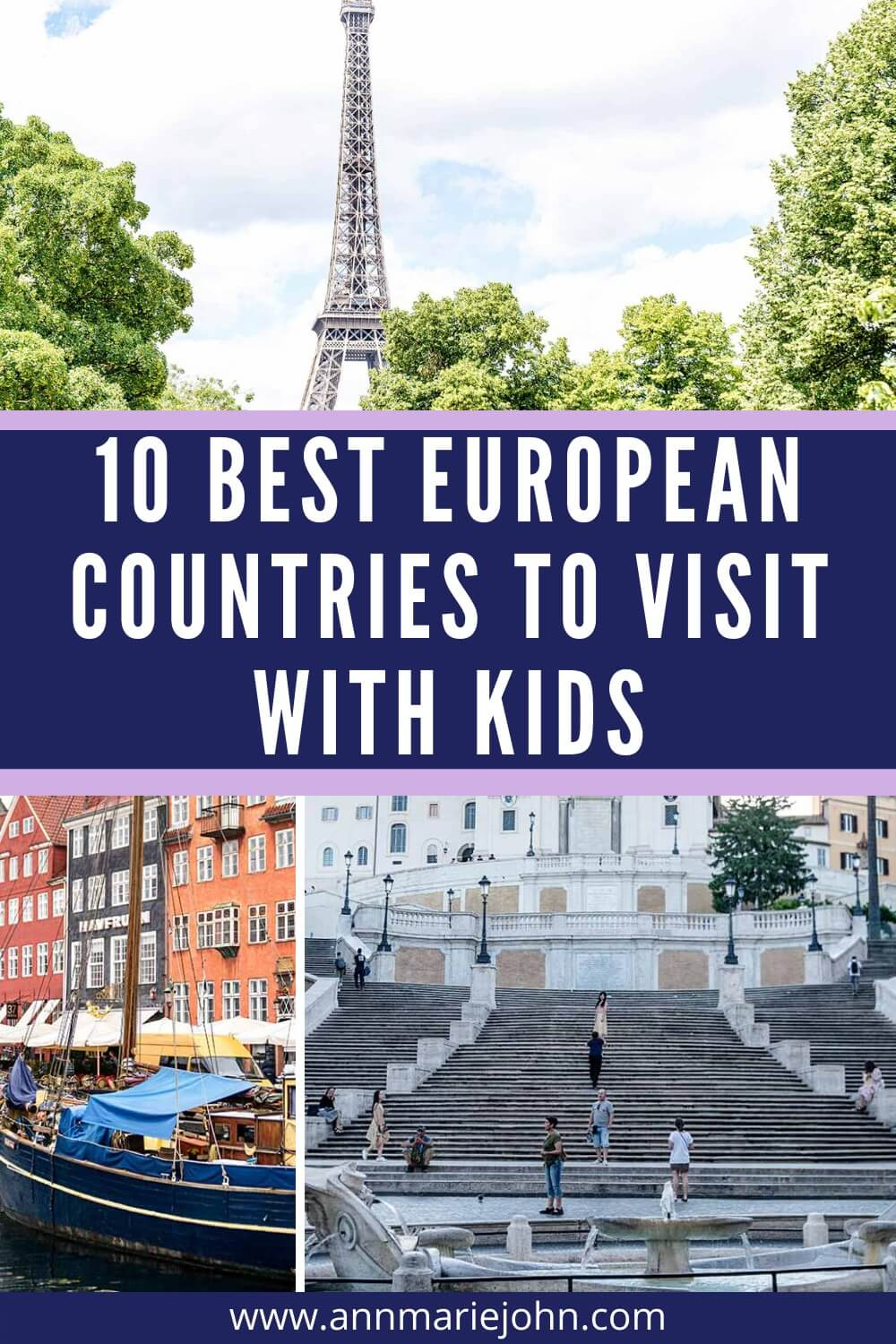 Ten Best European Countries to Visit With Kids