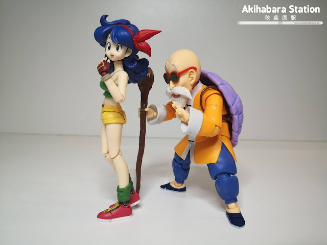 Review del S.H.Figuarts Lunch de Dragon Ball - Tamashii Nations