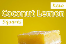 Keto Coconut Lemon Squares Recipe