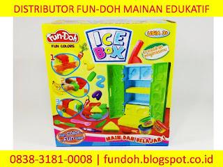 Fun-Doh Ice Box, fun doh indonesia, fun doh surabaya, distributor fun doh surabaya, grosir fun doh surabaya, jual fun doh lengkap, mainan anak edukatif, mainan lilin fun doh, mainan anak perempuan