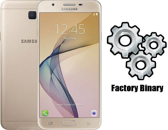 Samsung Galaxy J7 Prime SM-G610F Combination Firmware