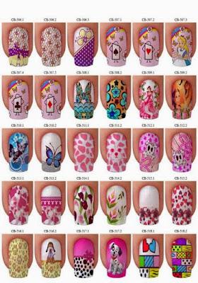 Imagenes de uñas decoradas, Modelos de uñas para manos
