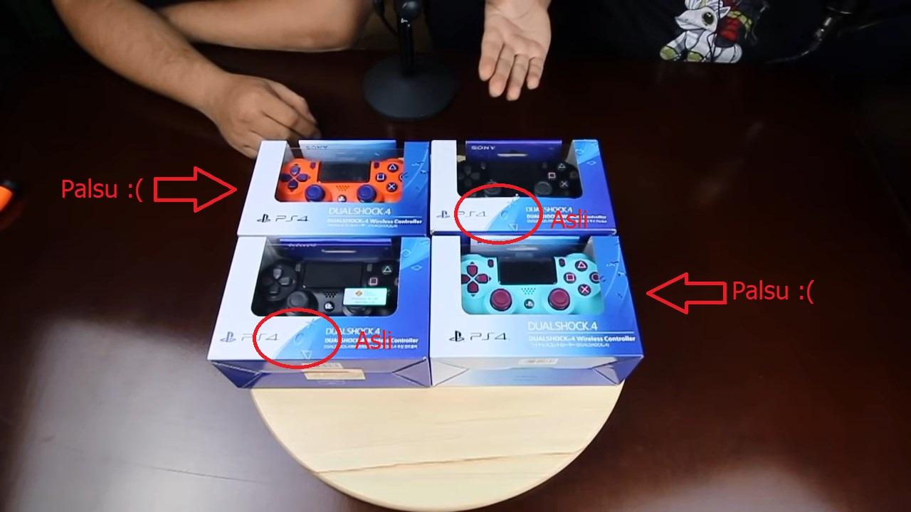 Cara Membedakan Stick DualShock PS4 Asli atau Palsu