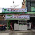 Pak Marcel Limbong Launching Pecel Lele Dan SeaFood Nasi Uduk Lamongan di Samosir