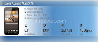 2. Huawei Ascend Mate2 4G