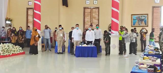Wakil Ketua II DPRD Natuna, Hadiri Rapat Pleno Penetapan Pasangan Calon Bupati dan Wakil Bupati Natuna Terpilih Tahun 2020