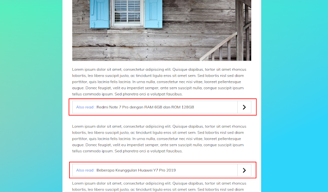How to Add inline Multiple Related Posts inside Blogger Article Content