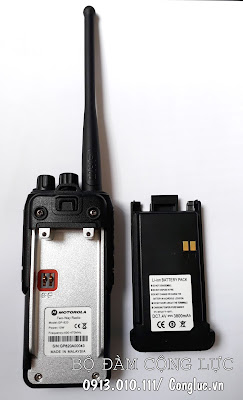thân máy và pin bộ đàm Motorola GP820