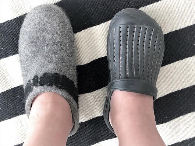 Kattellaan niitä muita kenkiä sitten joskus...