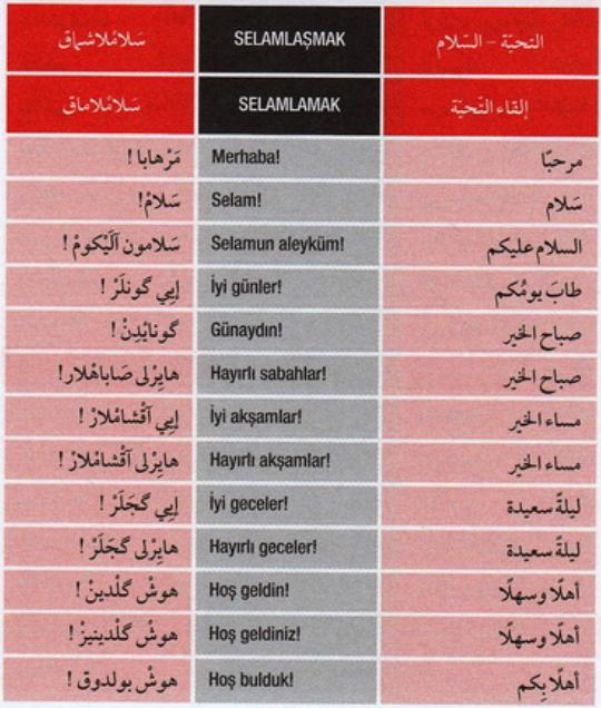 تعلم اللغة التركية من المحادثات