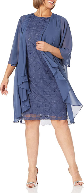 Beautiful Plus Size Mother of The Groom Dresses With Jackets