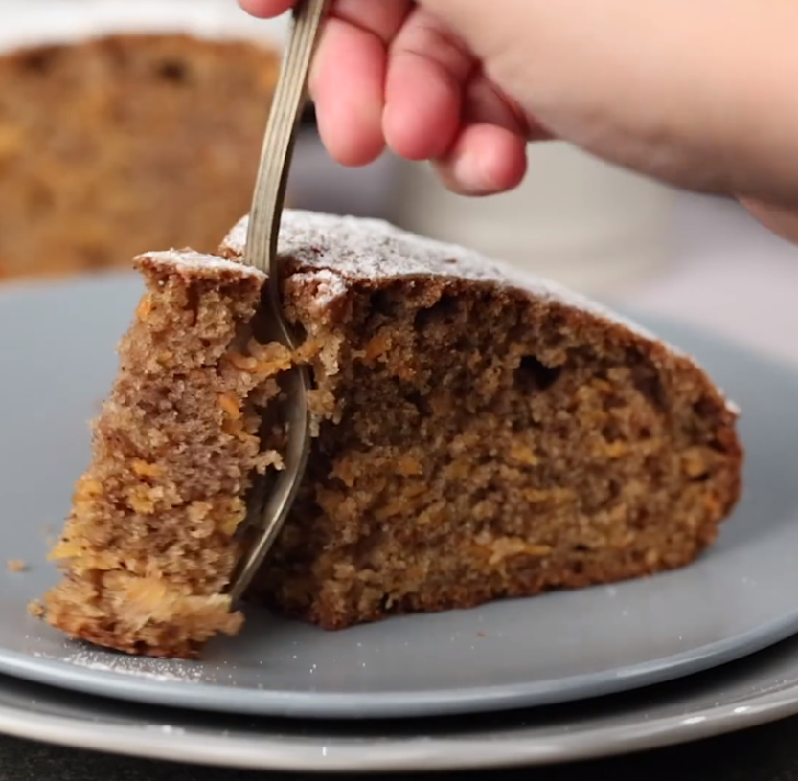 The lightest and most enticingly moist carrot cake recipe