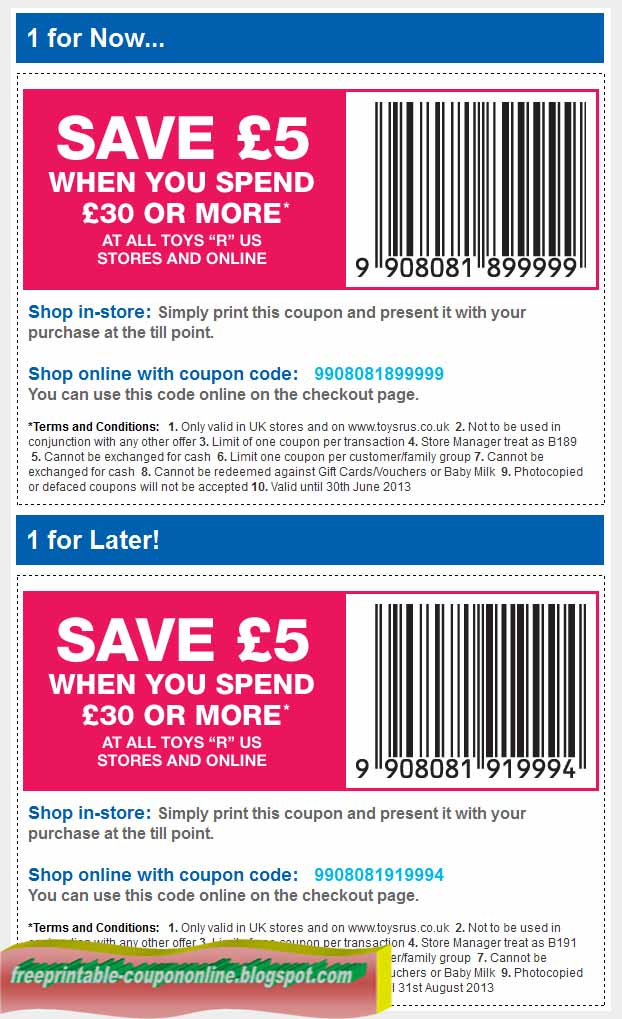 This is a graphic of Clean Printable Toy Coupon
