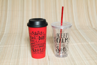 Avon Travel Mug and Tumbler Set