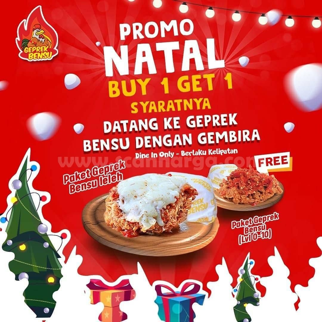 GEPREK BENSU Spesial Promo Hari NATAL – BELI 1 GRATIS 1