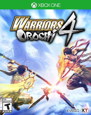 Warriors Orochi 4 Game Cover Xbox One