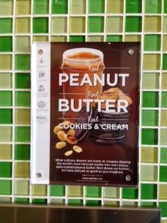 Yogurtland Peanut Butter Parfait