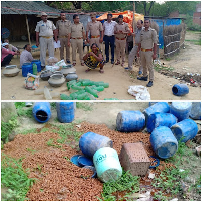 Police Seize Illegal Liquor News In Hindi Uttar Pradesh