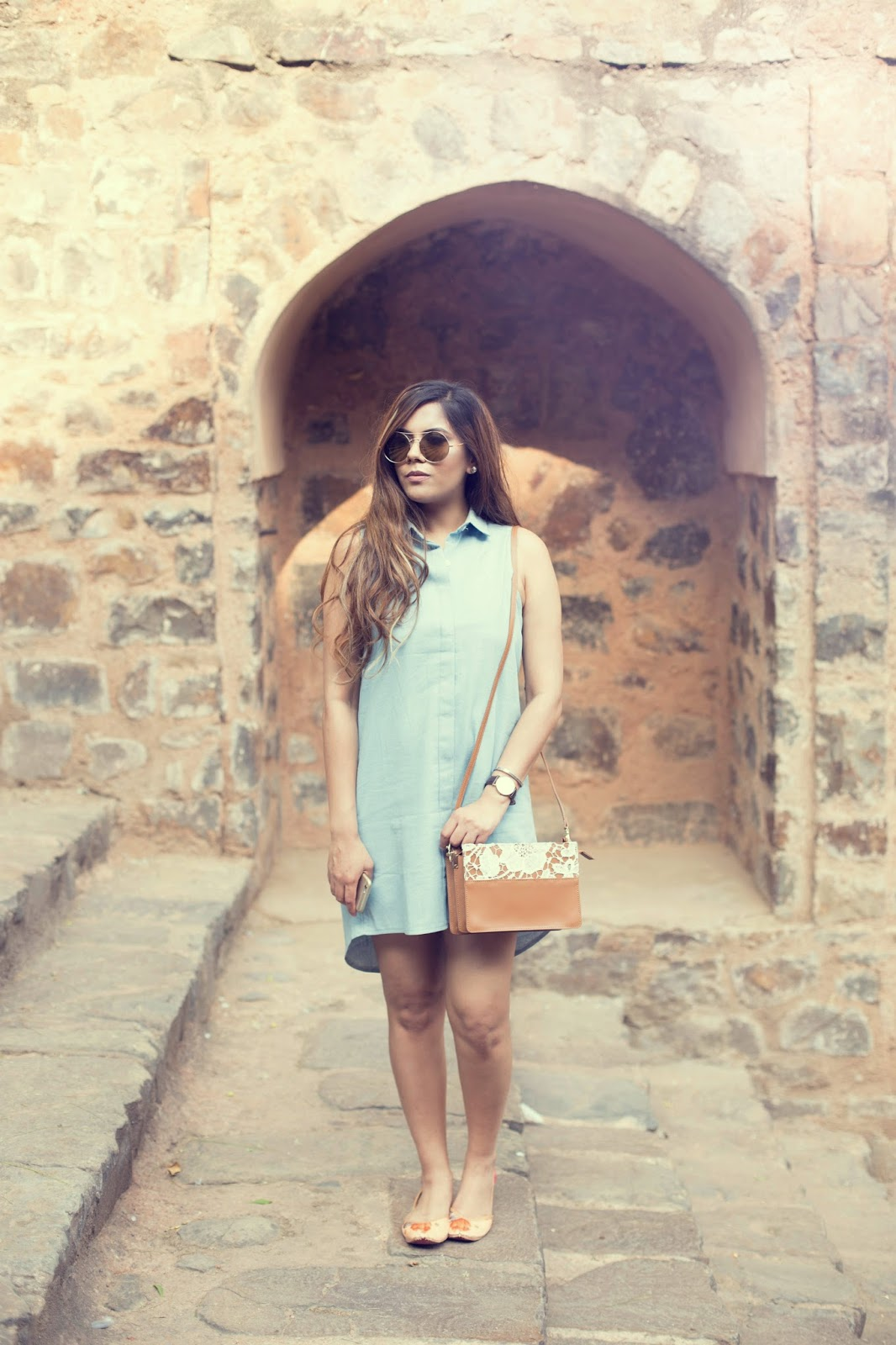 2fd822eb03ef Denim Shirt Dress-The Chill Summer Fashion