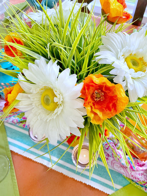 Colorful Spring Table and Some Awesome DIYs for Your Home