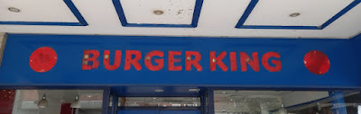 Burger King ghost sign in Chester