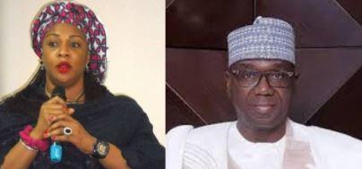 Gbemi Saraki attacks Kwara governor for demolishing father's house